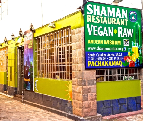 SHAMAN CENTER VEGAN RAW andean wisdom